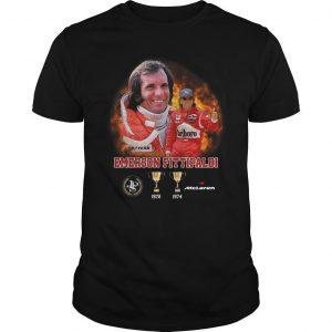 Emerson Fittipaldi 1972 1974 Mclaren Shirt