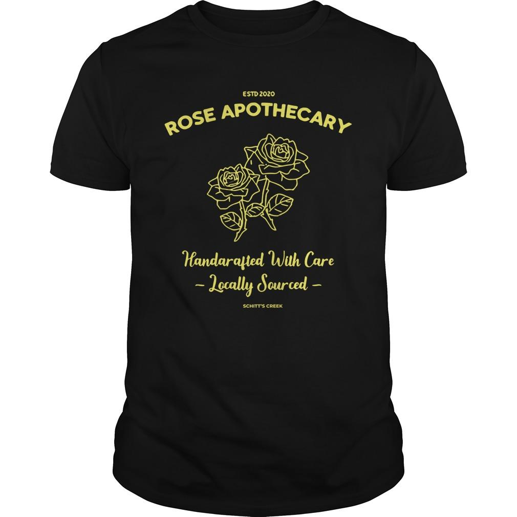 Estd 2020 Rose Apothecary Handcrafted With Care Locally Sourced Longsleeve