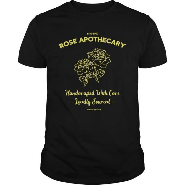 Estd 2020 Rose Apothecary Handcrafted With Care Locally Sourced Shirt