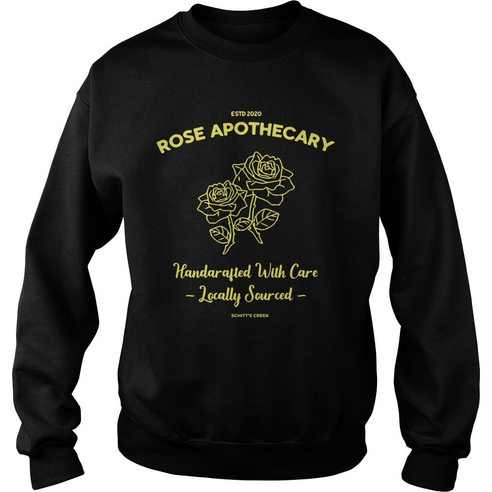 Estd 2020 Rose Apothecary Handcrafted With Care Locally Sourced Sweater