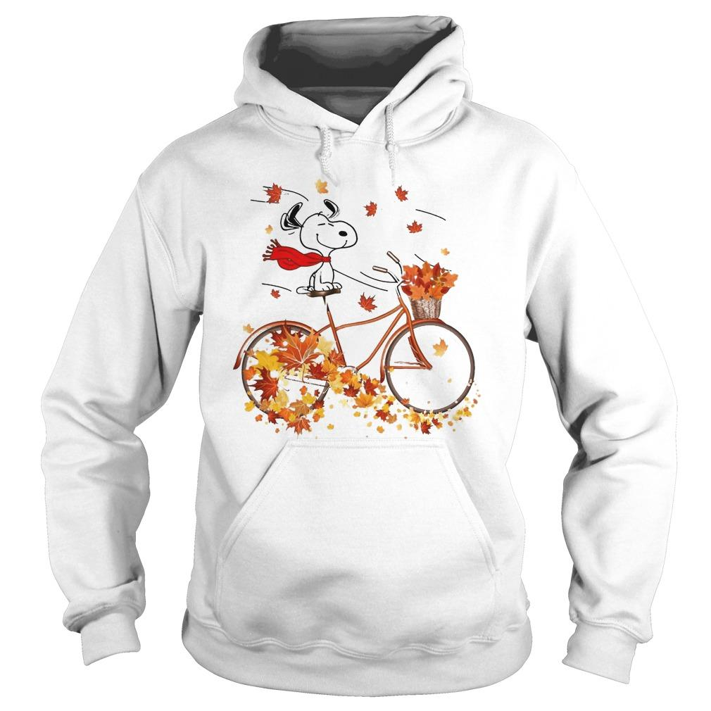 Fall The Peanuts Snoopy Hoodie
