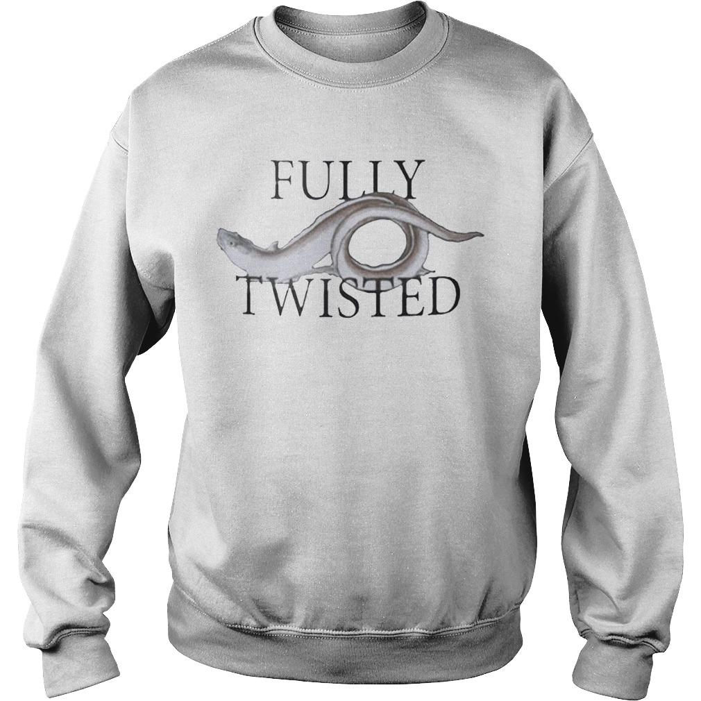 Fish Fully Twisted Sweater