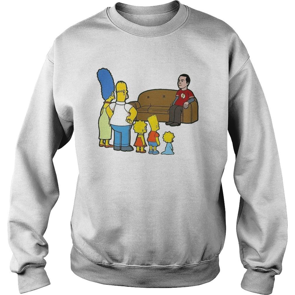 Flash The Simpson Family Sweater