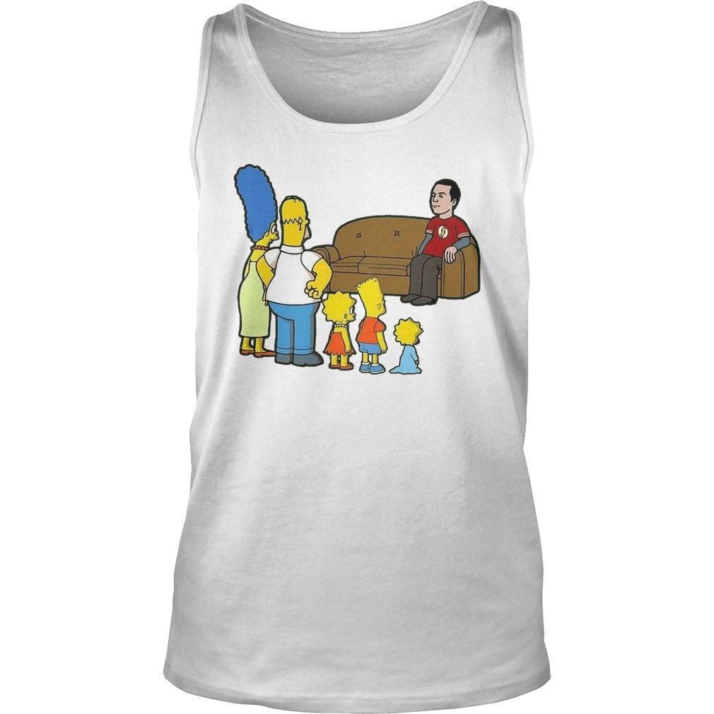 Flash The Simpson Family Tank Top
