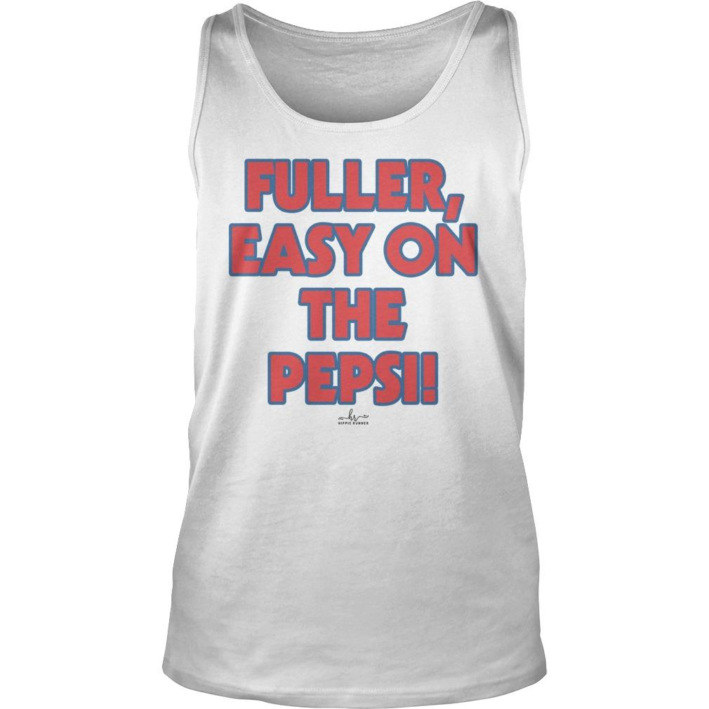 Fuller Easy On The Pepsi Tank Top