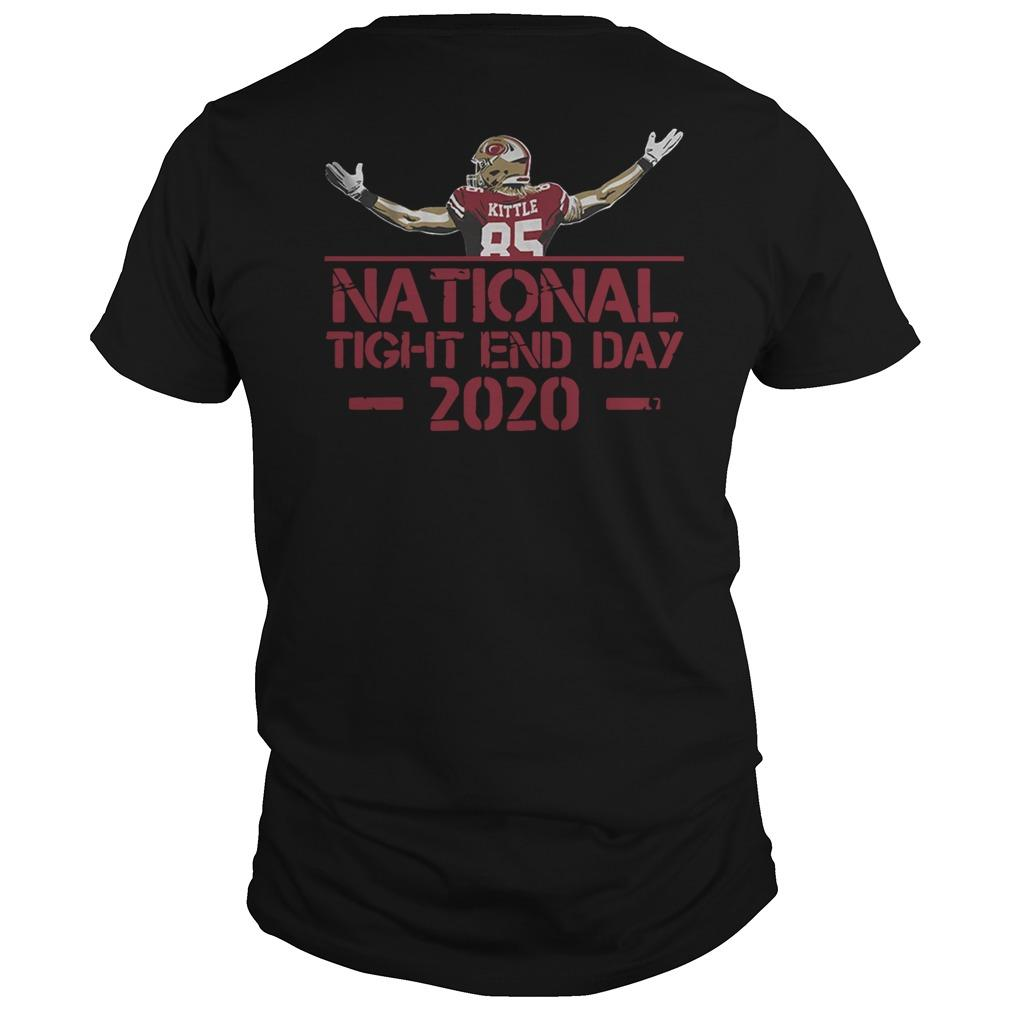 George Kittle National Tight End Day Longsleeve