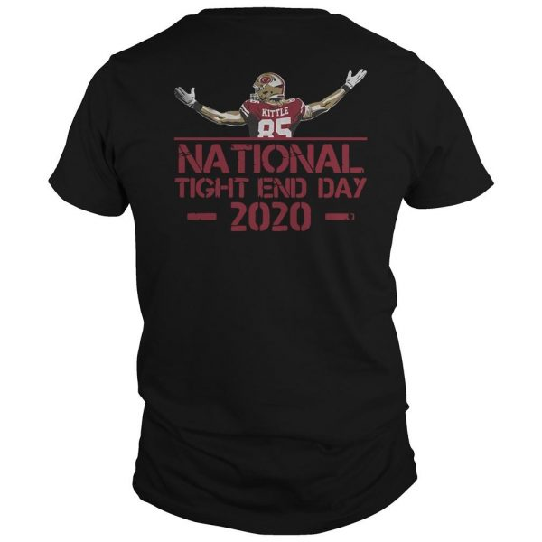 George Kittle National Tight End Day Shirt
