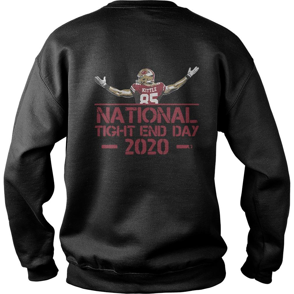 George Kittle National Tight End Day Sweater