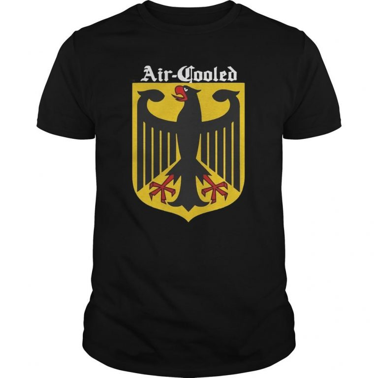 Germany Flag National Symbol Air Cooled Shirt