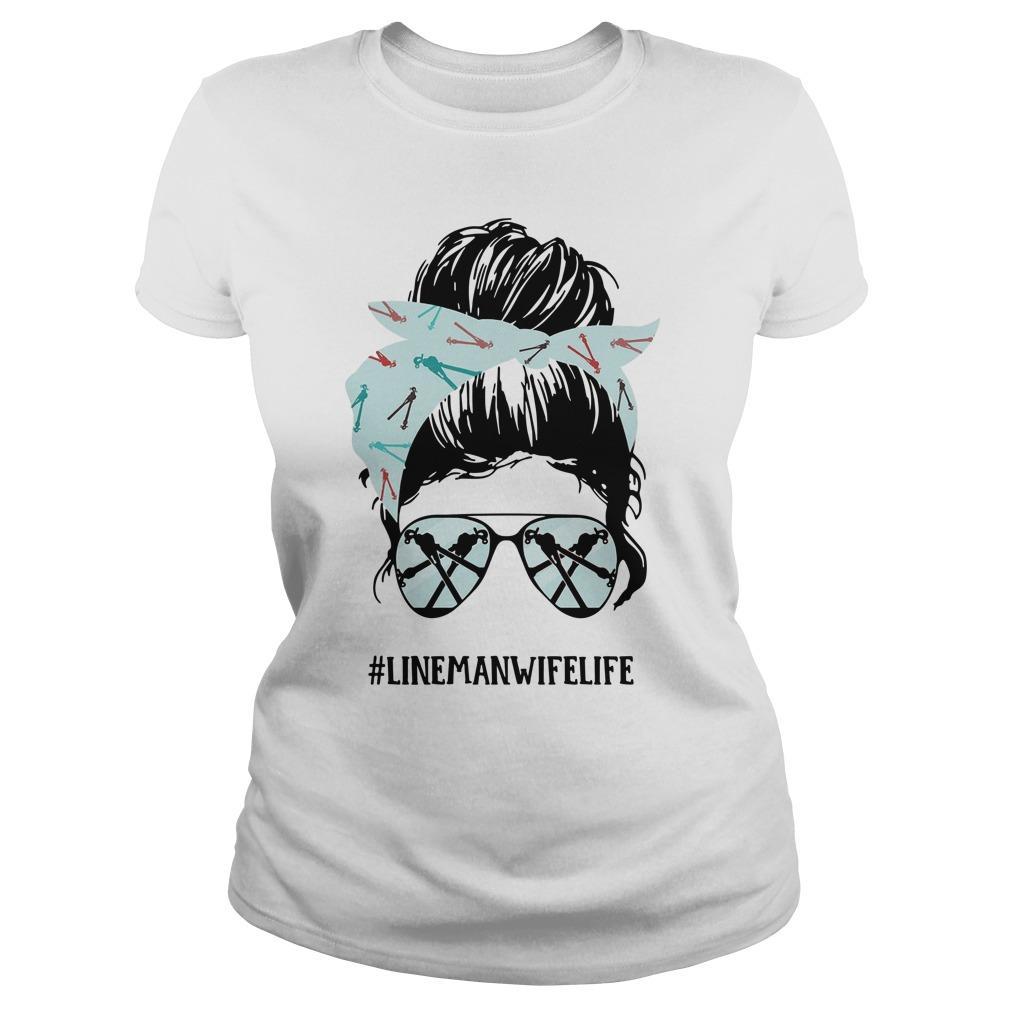 Glasses Girl #linemanwifelife Longsleeve