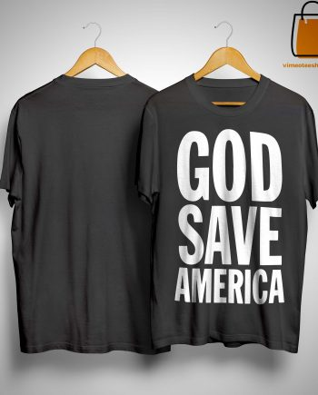 God Save America Kanye 2020 Shirt