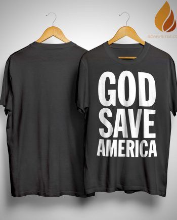 God Save America Kanye West Shirt