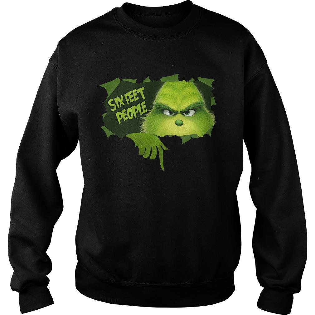 Grinch Six Feet People Sweater