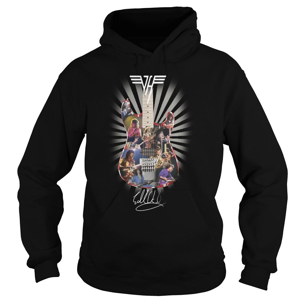 Guitar Eddie Van Halen Signature Hoodie