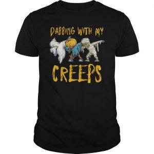 Halloween Dabbing With My Creeps Shirt