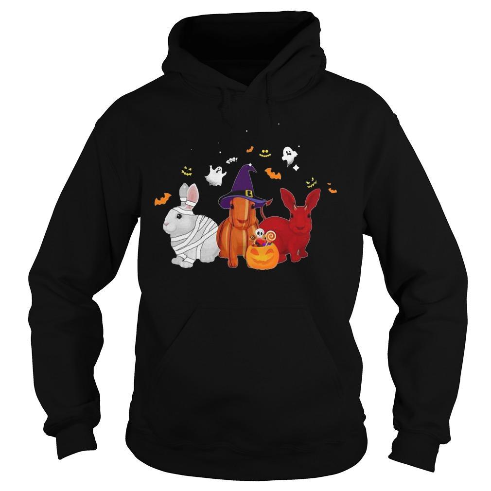 Halloween Rabbit Pumpkin Hoodie