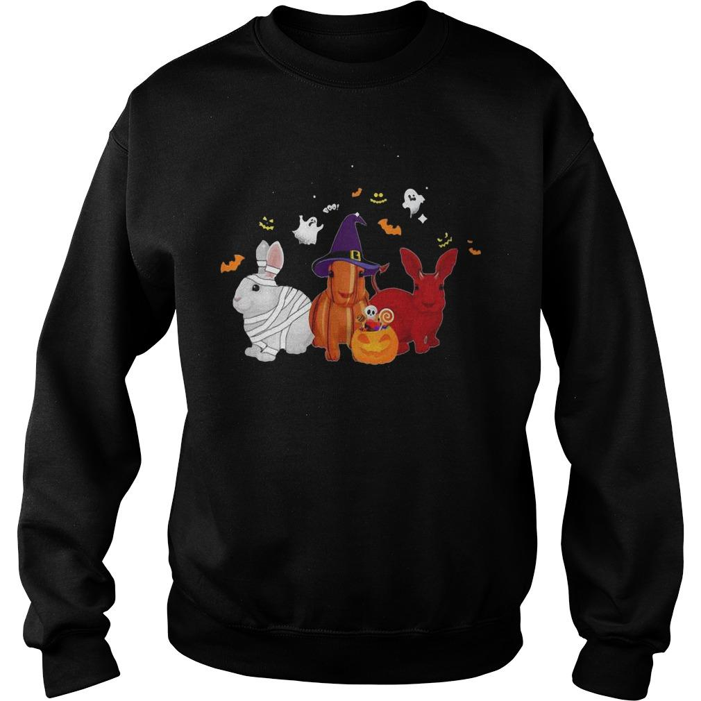 Halloween Rabbit Pumpkin Sweater