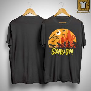 Halloween Running Scooby Doo Shirt