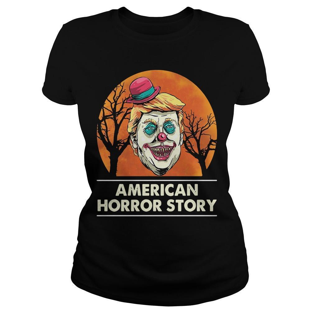 Halloween Trump American Horror Story Longsleeve
