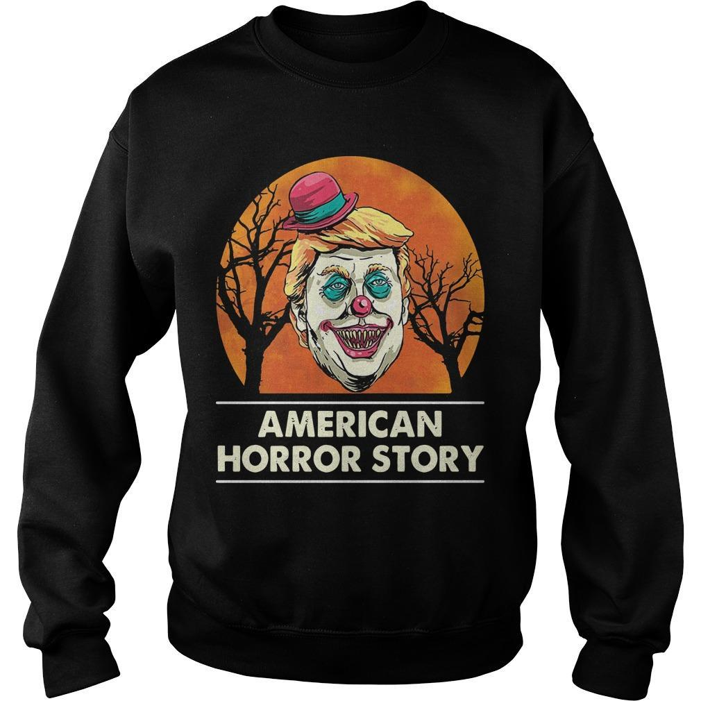 Halloween Trump American Horror Story Sweater