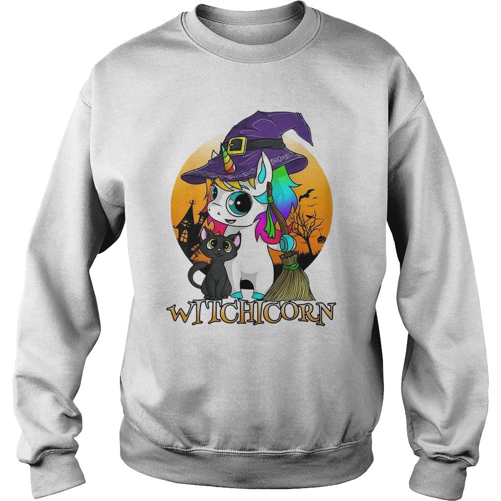 Halloween Witchicorn Sweater