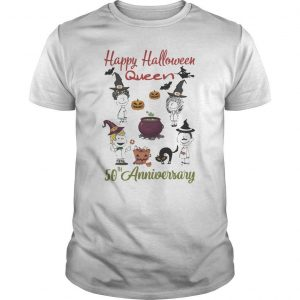Happy Halloween Queen 50th Anniversary Shirt
