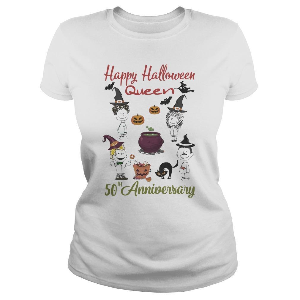 Happy Halloween Queen 50th Anniversary Tank Top