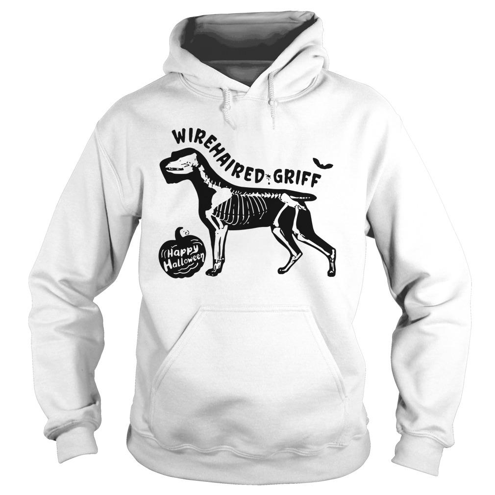 Happy Halloween Wirehaired Griff Hoodie