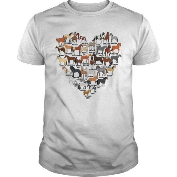 Heart Love Horse Shirt