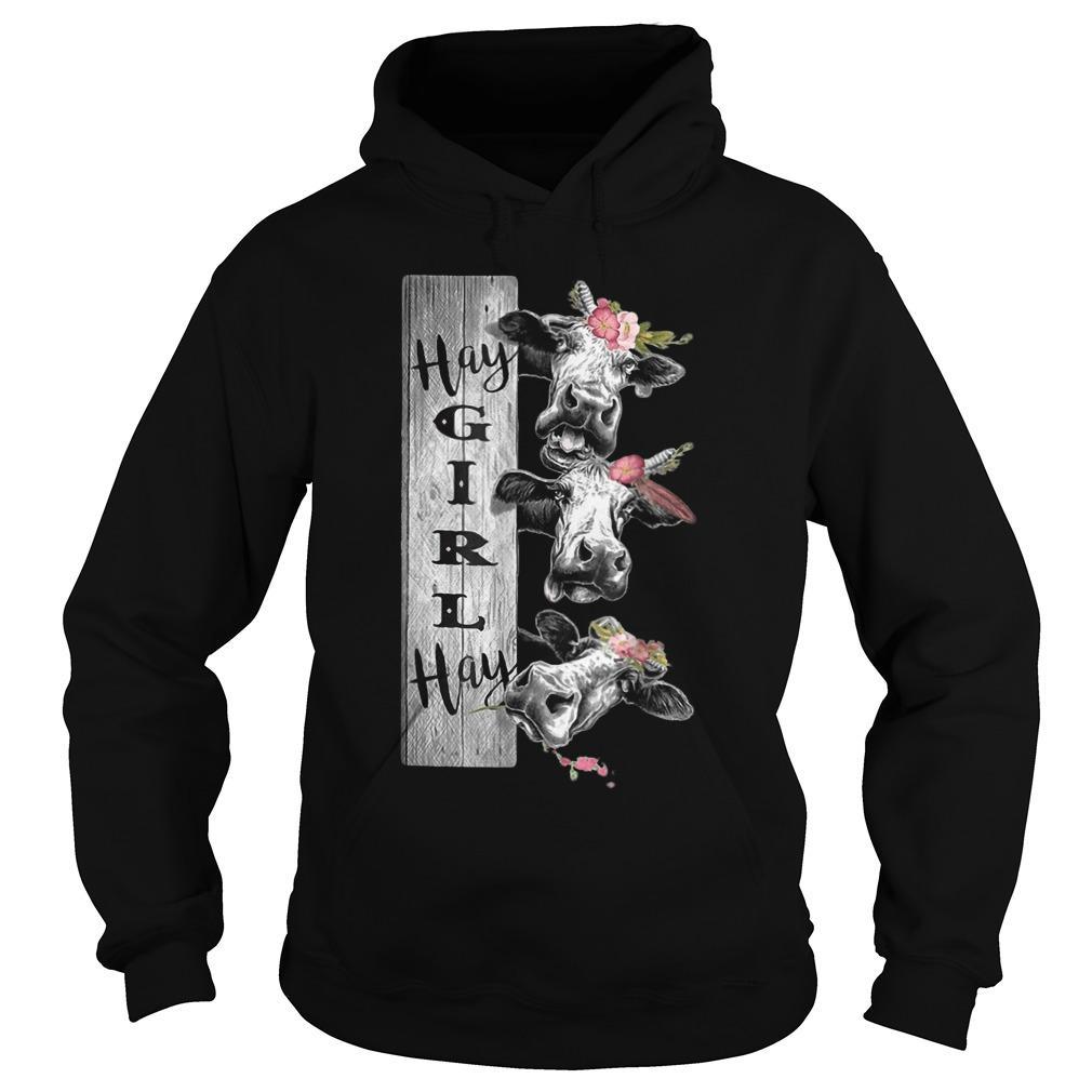 Heifer Hay Girl Hay Hoodie