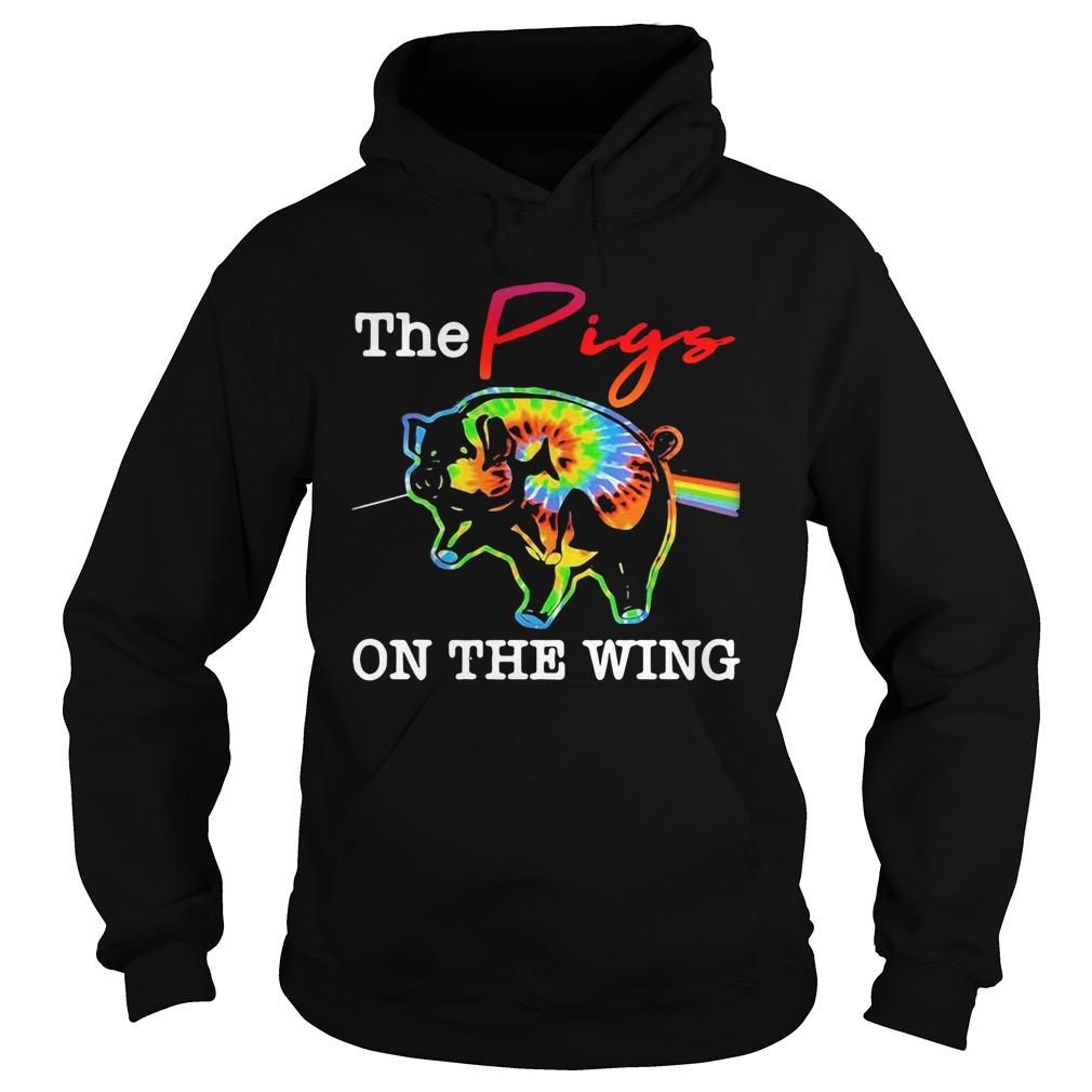 Hippie The Pigs On The Wing Hoodie