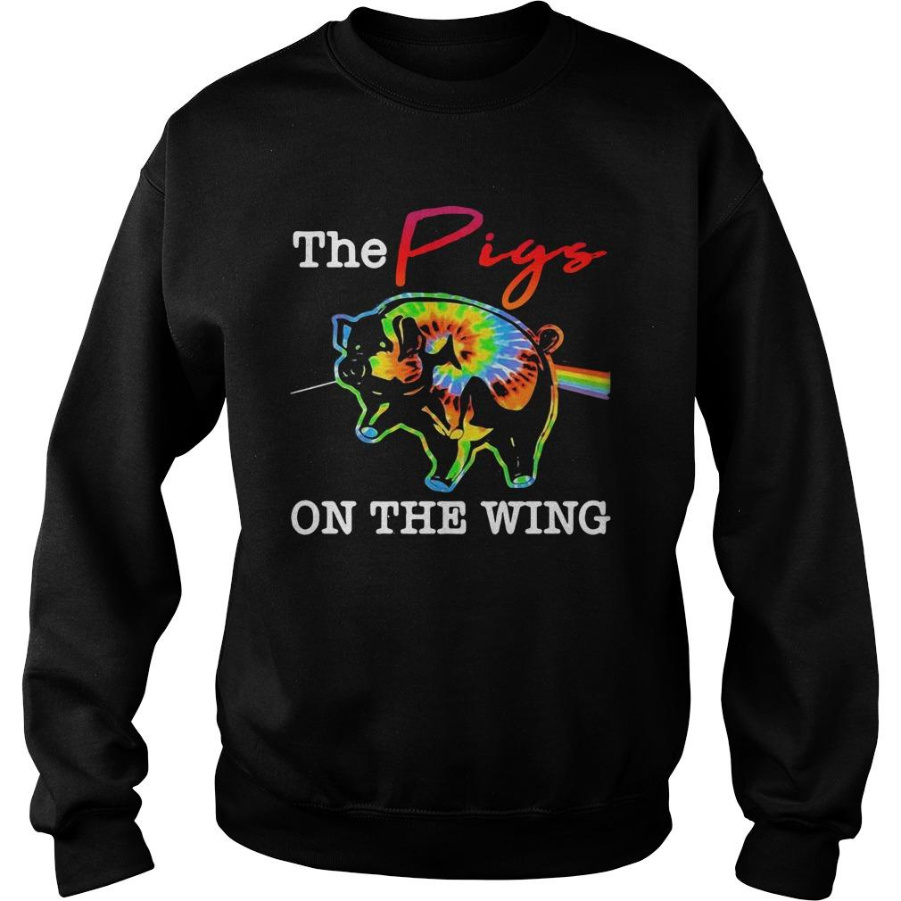 Hippie The Pigs On The Wing Sweater