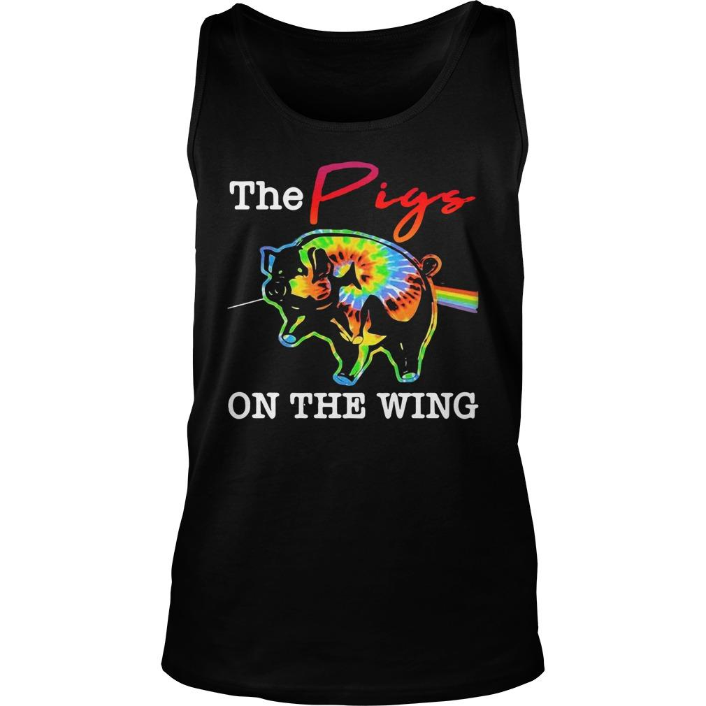 Hippie The Pigs On The Wing Tank Top
