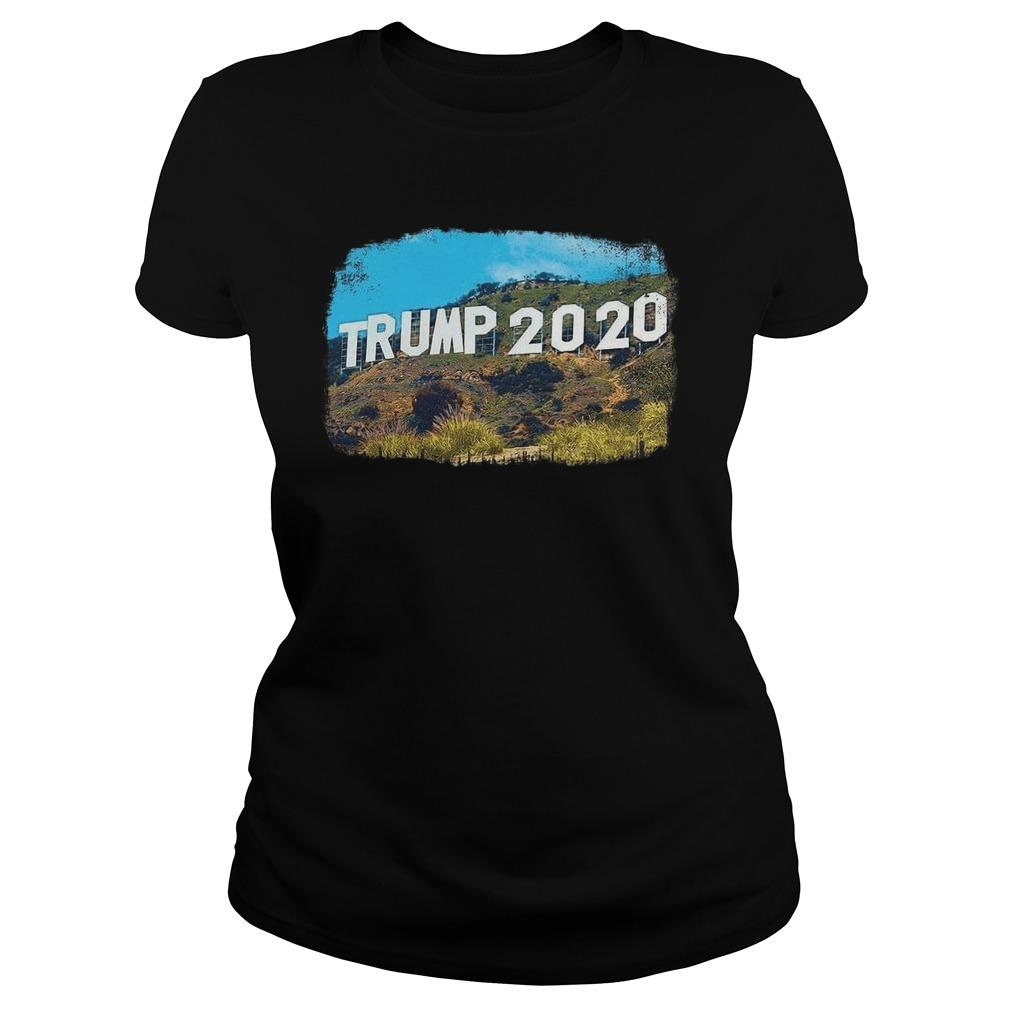 Hollywood Trump 2020 Longsleeve