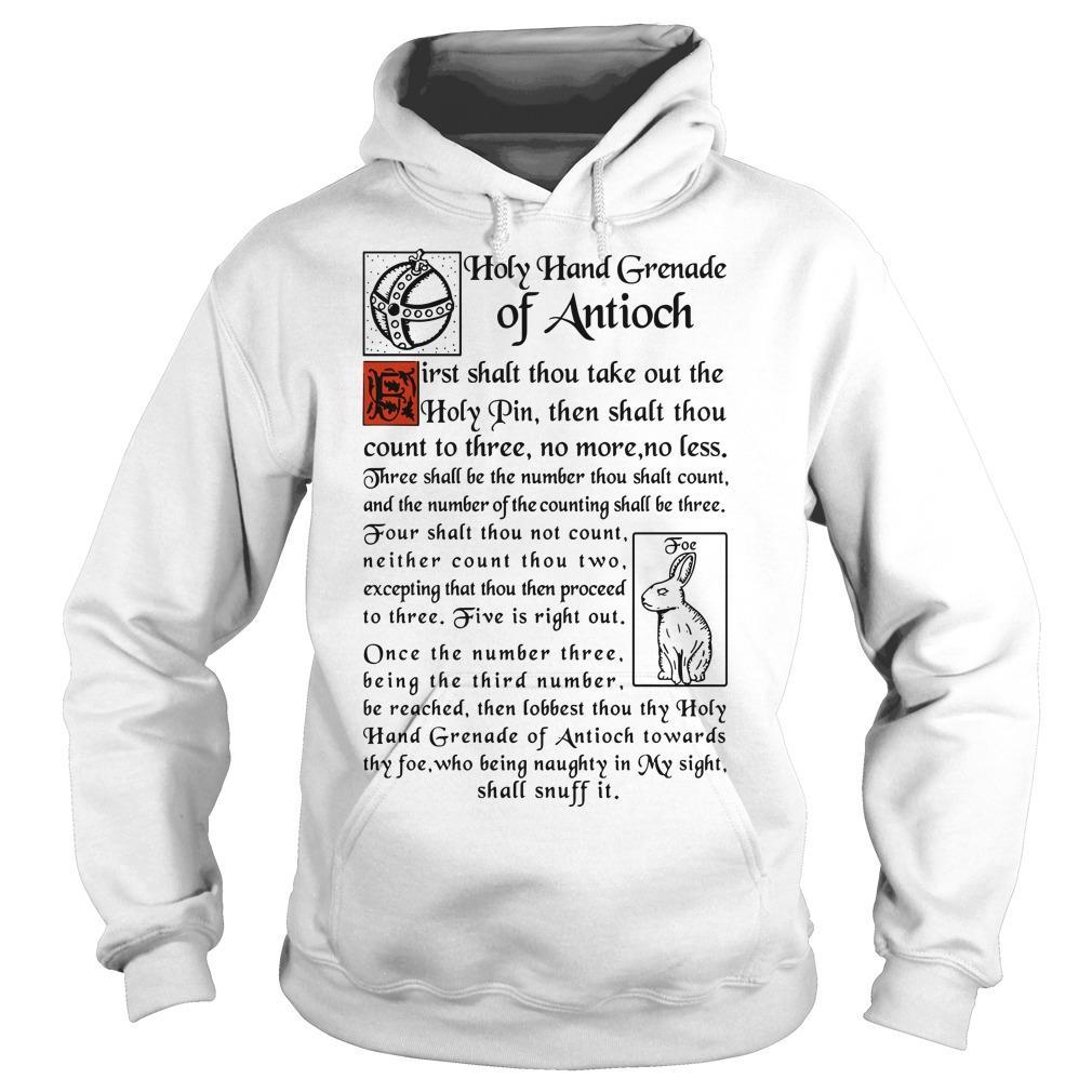 Holy Hand Grenade Of Antioch Hoodie