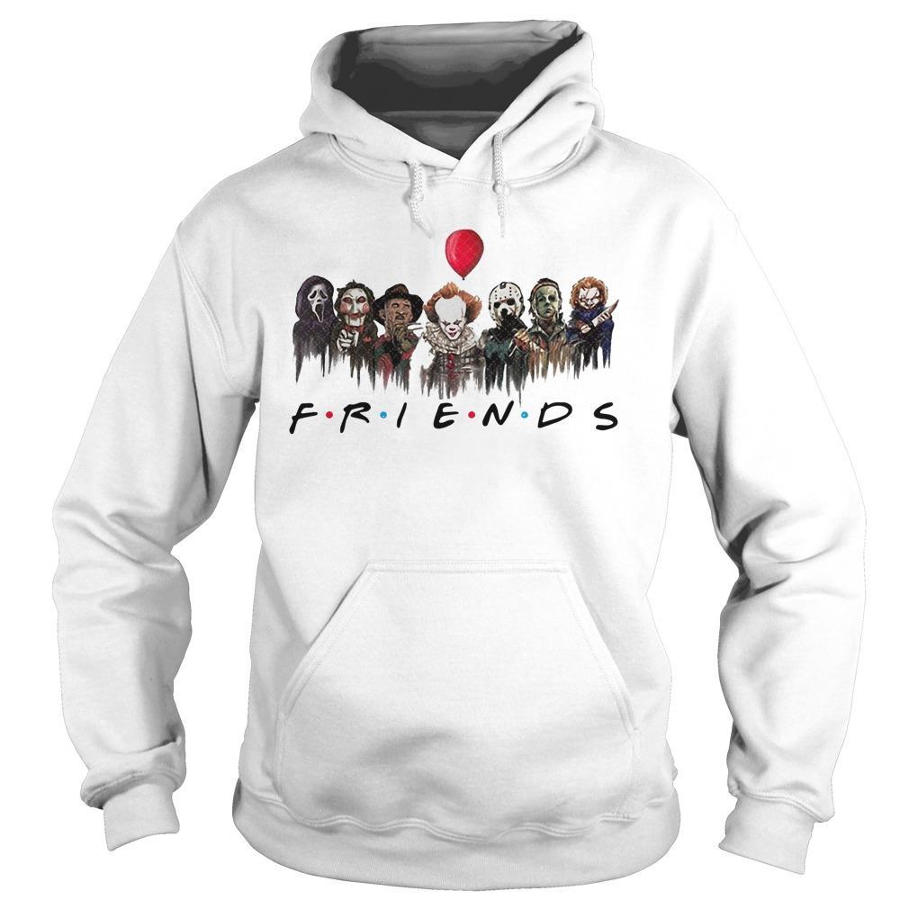 Horror Characters Pennywise Friends Hoodie