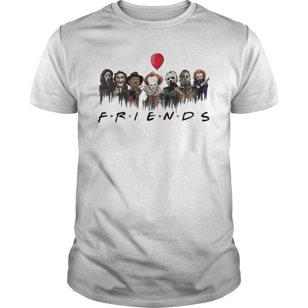 Horror Characters Pennywise Friends Longsleeve