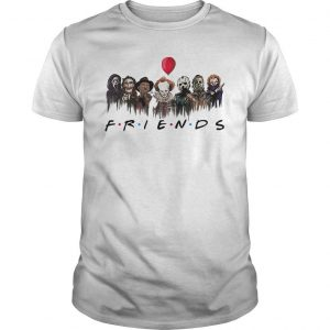 Horror Characters Pennywise Friends Shirt