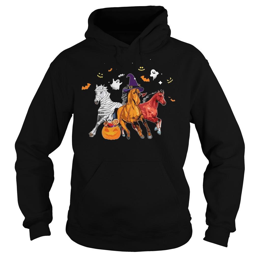 Horse In Halloween Costume Hoodie