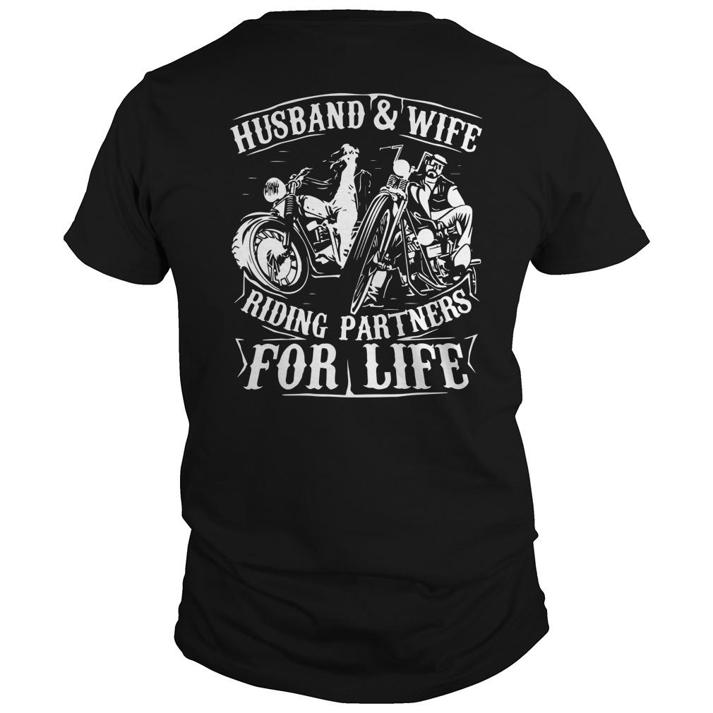 Husband And Wife Riding Partners For Life Longsleeve