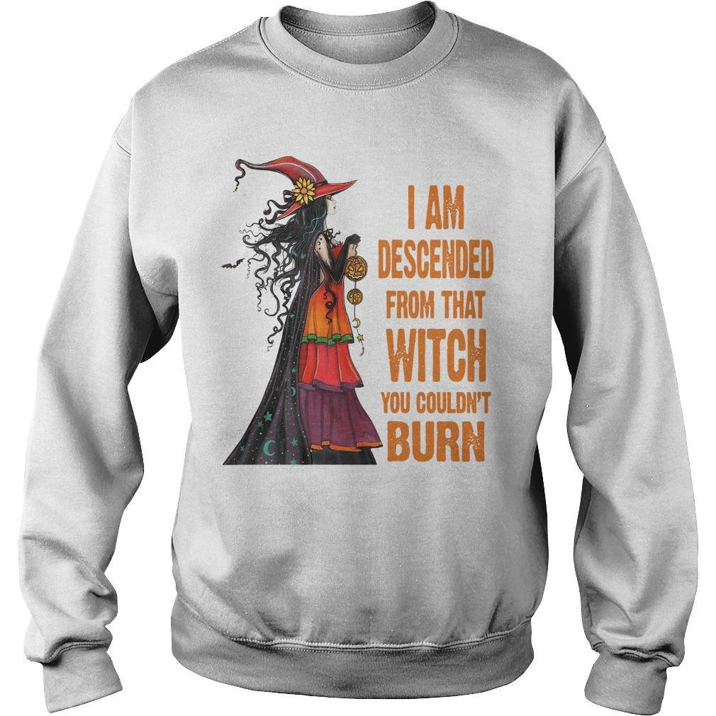 I Am Descended From That Witch You Couldn't Burn Sweater
