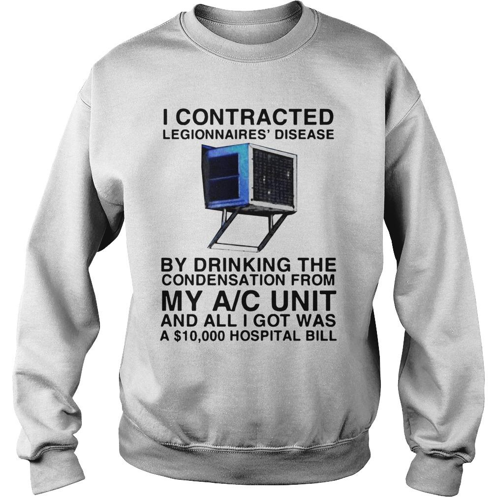I Contracted Legionnaires' Disease By Drinking The Condensation Sweater