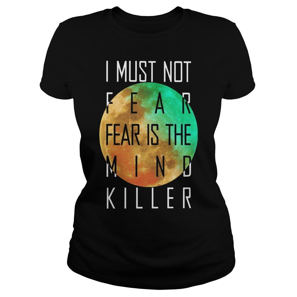 I Must Not Fear Fear Is The Mind Killer Longsleeve