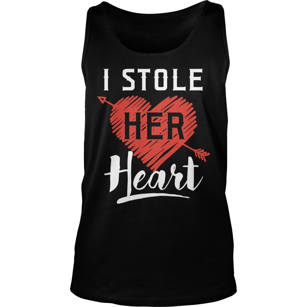 I Stole Her Heart Tank Top