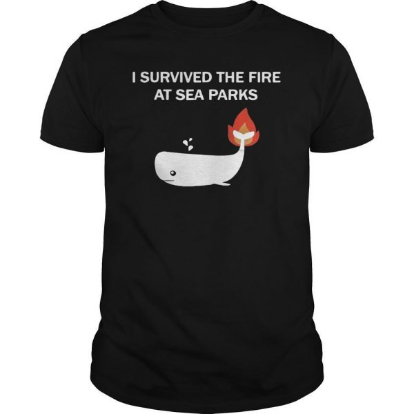 I Survived The Fire At Sea Parks Shirt