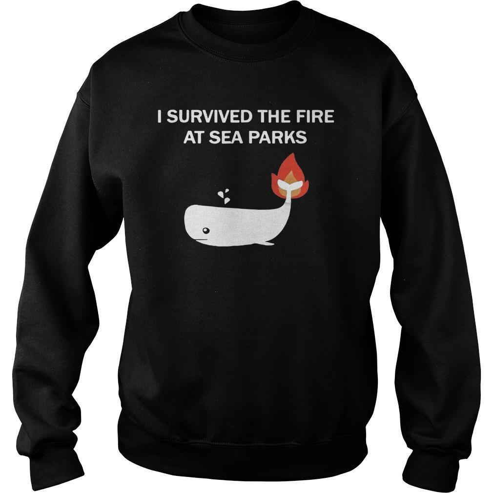 I Survived The Fire At Sea Parks Sweater