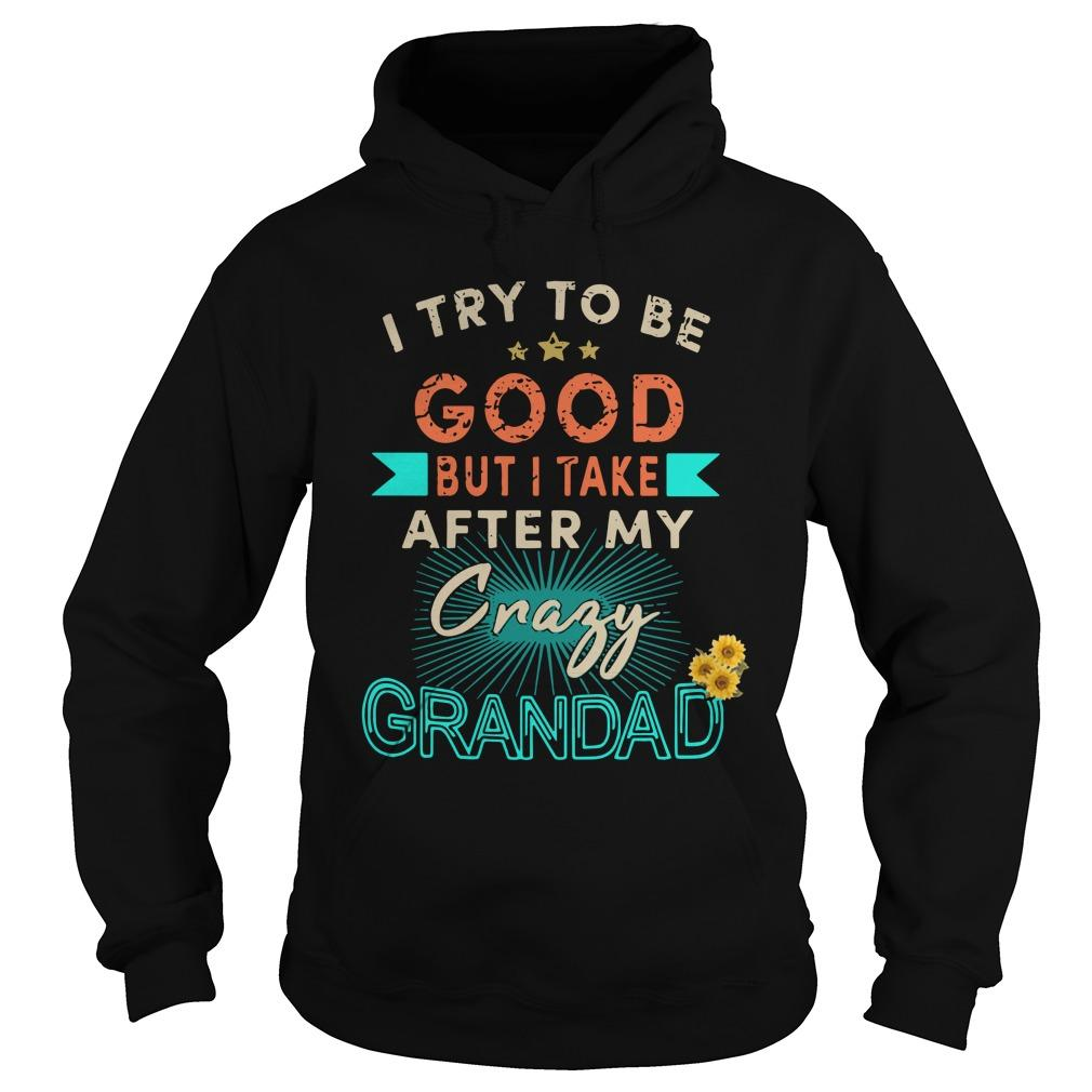 I Try To Be Good But I Take After My Crazy Grandad Hoodie