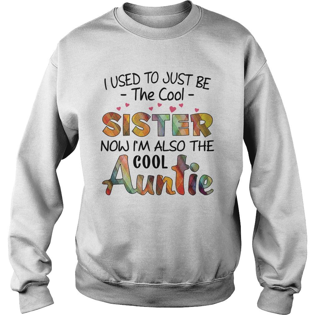 I Used To Just Be The Cool Sister Now I'm Also The Cool Auntie Sweater