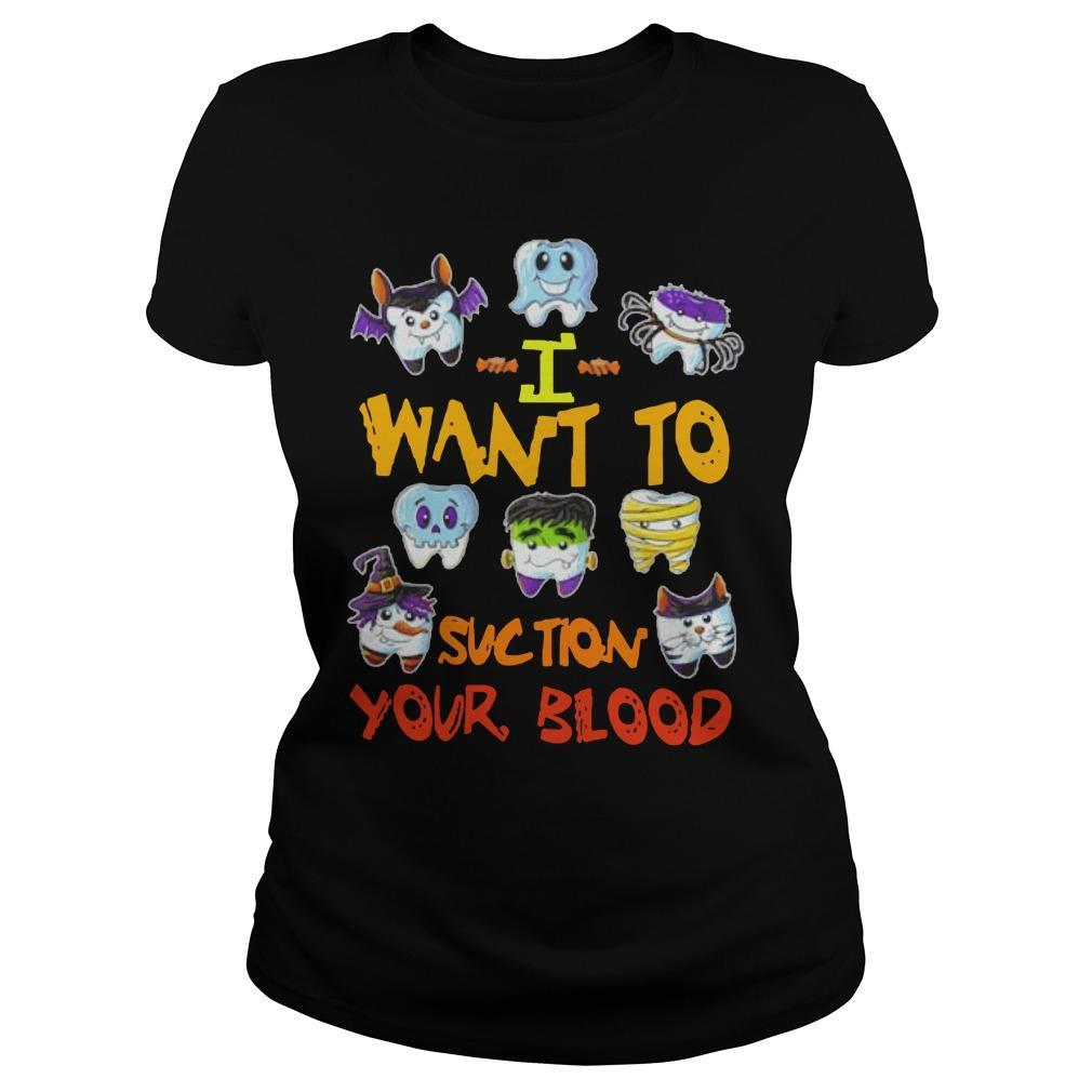 I Want To Suction Your Blood Longsleeve