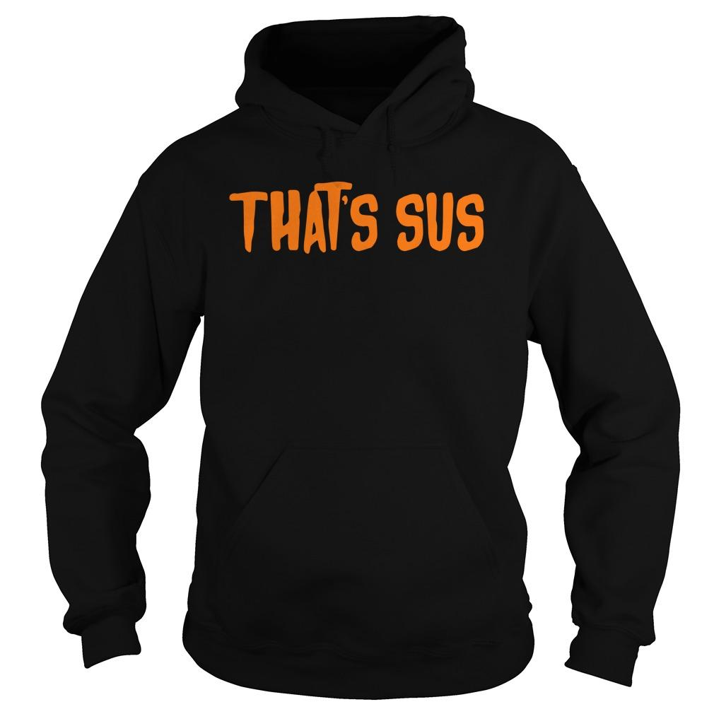 Imposter For Among Suspicious People That's Sus Hoodie
